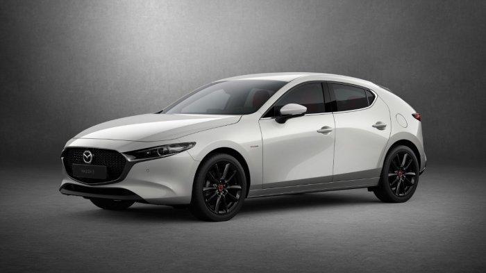 Ilustrasi mobil Mazda 3