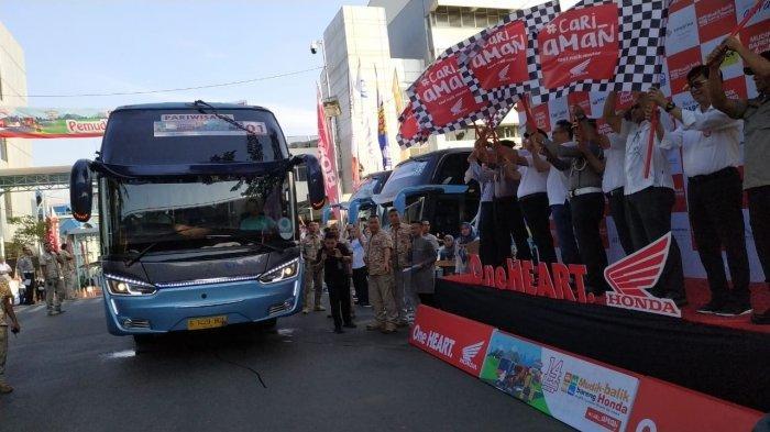 Astra Honda Motor Berangkatkan 2.530 Pemudik Tujuan Semarang, Solo dan Jogja
