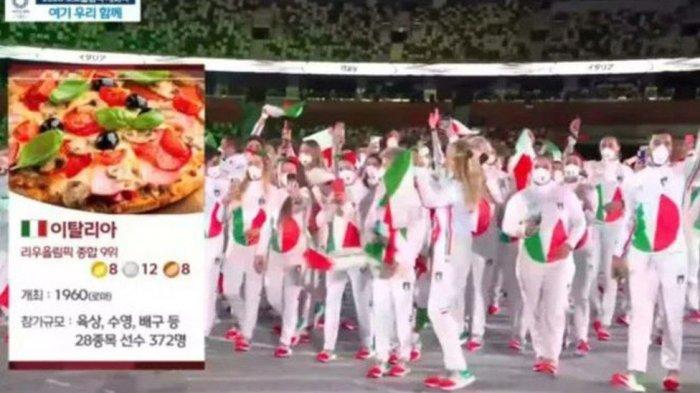 Tampilkan Gambar Nyeleneh saat Siaran Opening Olimpiade Tokyo, Stasiun TV Korea Selatan Minta Maaf