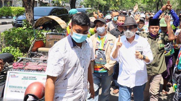Paguyuban Bentor Gaspol Menangkan Machfud Arifin
