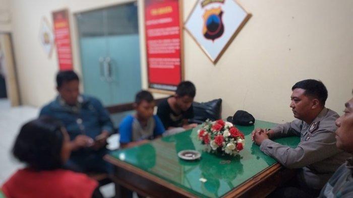 2 Pelaku Pelemparan Bus Jurusan Surabaya - Jogja di Sragen Dikejar dan Ditangkap Kondekturnya