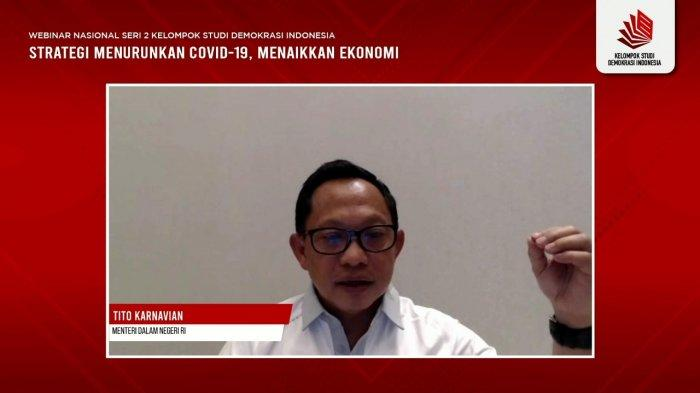 Mendagri Tito Karnavian Ungkap Strategi Utama Perang Lawan Covid-19