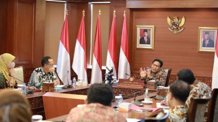 Bahas Monitoring dan Evaluasi Dana Desa, Gus Menteri Ingatkan Sistem Proteksi Dini