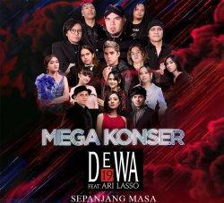 Mega Konser Dewa Malam Nanti, Isyana Bawakan Lagu 'Cintakan Membawamu Kembali' Bareng Dul Jaelani