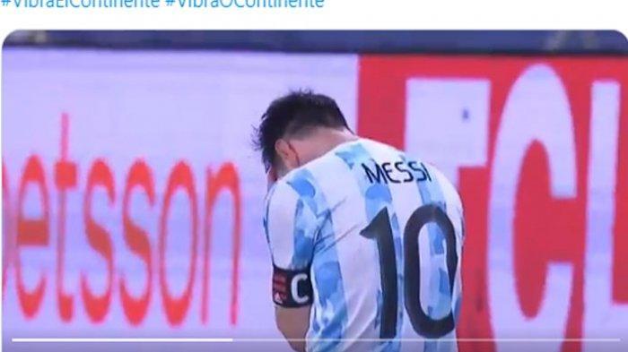 Tangis Haru Lionel Messi di Detik-detik Argentina Akhiri Puasa Gelar 28 Tahun Seusai Kalahkan Brasil