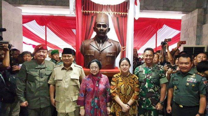 Megawati dan Prabowo Saksikan Sosiodrama Bung Karno di Akmil Magelang
