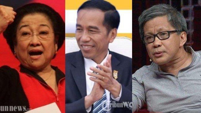 Rocky Gerung Nilai PDIP Sudah Tidak Bersama Jokowi: Politik Hari Ini Persaingan Presiden vs PDIP