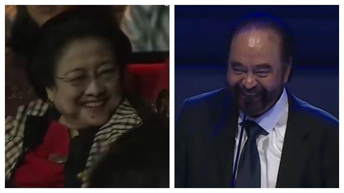 Surya Paloh Sebut Masih Sayang Megawati di HUT Nasdem, Kirim Intelijen saat Tak Disalami 'Mbak Mega'