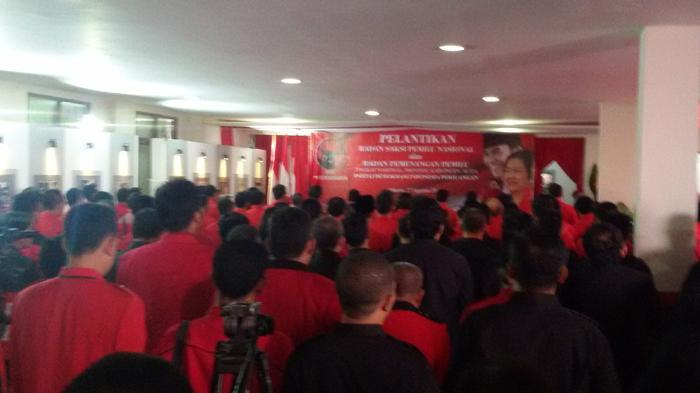 Megawati Lantik Badan Pemenangan dan Saksi Pemilu PDIP Pusat dan Daerah