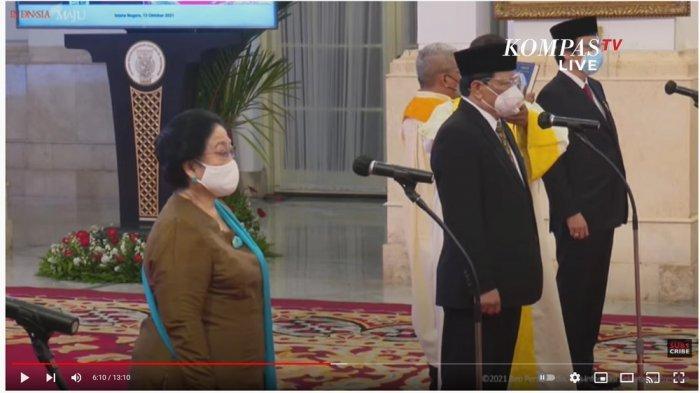 Dewan Pengarah BRIN Resmi Dilantik, Megawati Soekarnoputri Jadi Ketua, Ini Daftar Susunannya