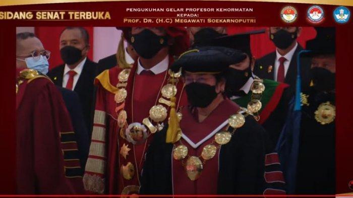 Megawati Terima Gelar Profesor Kehormatan, Guru Besar Unhan: Kita Lihat Leadership yang Kuat
