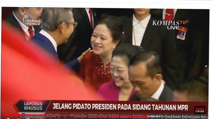 Ekspresi Megawati Umbar Senyum di Sidang Tahunan MPR, Pengamat M Qodari Singgung Suasana Kebatinan