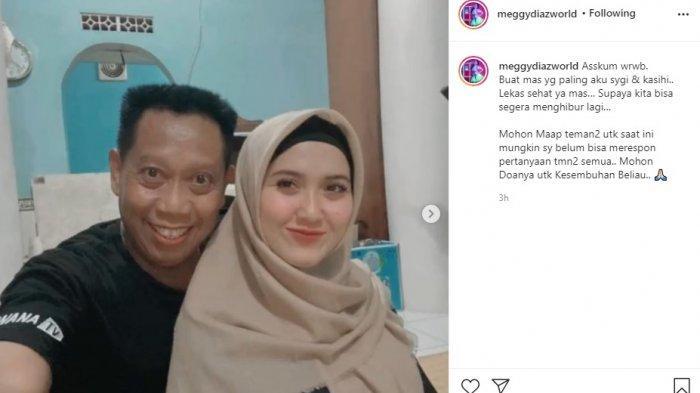 Meggy Diaz mengunggah fotonya bersama Tukul. Ia mendoakan agar Tukul lekas sembuh, Kamis (23/9/2021).