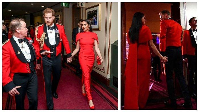 Meghan Markle dan Pangeran Hary Menerima Tepuk Tangan Meriah di Festival Musik