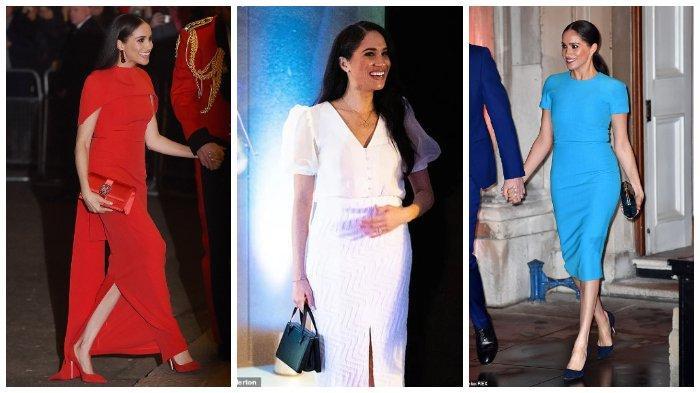 Meghan Markle Dinilai Meniru Trik Berbusa Kate Middleton selama Masa Kunjungannya di Inggris