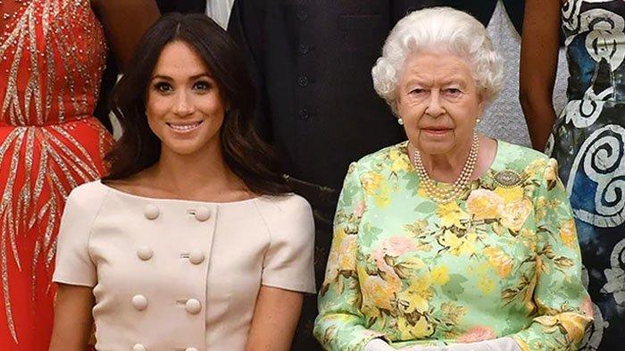Meghan Markle dan Ratu Elizabeth.