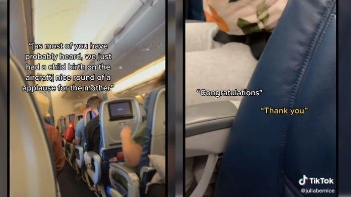Lavinia 'Lavi' Mounga sedang berada di dalam pesawat dari Salt Lake City ke Hawaii pada tanggal 28 April lalu untuk berlibur. Namun ditengah perjalanan itu, Mounga melahirkan putranya, Raymond, saat usia kandungan masuk minggu ke-29.