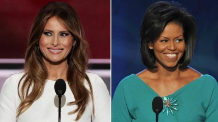 Minum Teh Bareng, Michelle Obama Curhat ke Melania Trump soal Anak