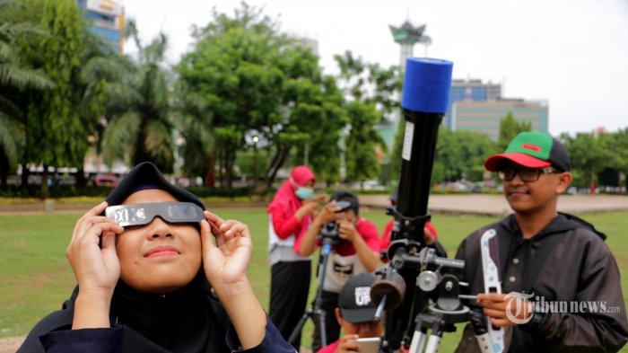 3 Peristiwa Gerhana Matahari di Berbagai Wilayah Indonesia, Pecahkan Rekor Sampai Reaksi Warga Heran