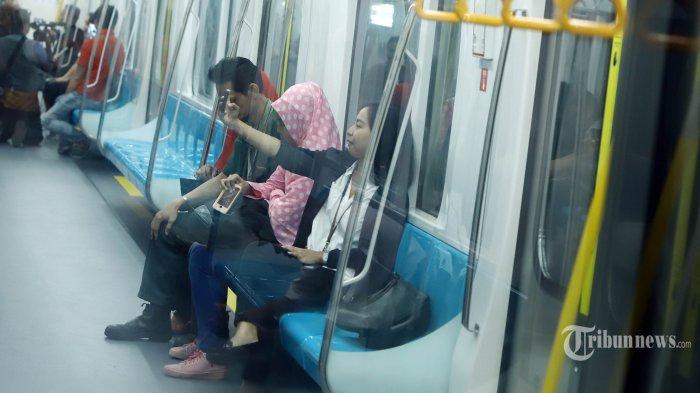 Video Panduan dan Larangan Wajib Dipahami Penumpang MRT Jakarta yang Beroperasi Senin Ini