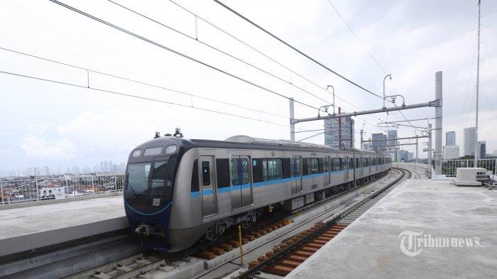 Imbas Aksi Demo UU Cipta Kerja, Operasional MRT Jakarta Setop Lebih Awal