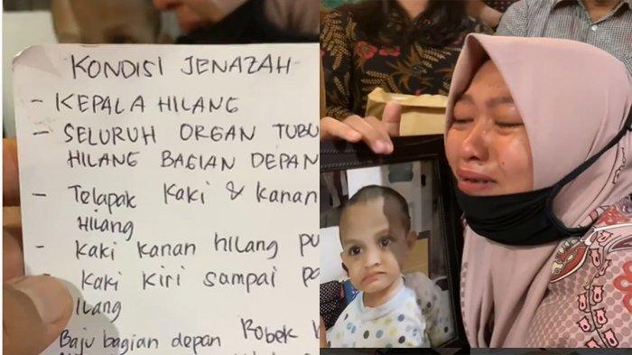 Ibunda Balita Tanpa Kepala di Samarinda Menangis Ngadu ke Hotman Paris: Tolongin Bang