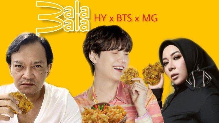 Ramaikan Euforia BTS Meal, Melly Goeslaw Unggah Poster Suapi Seok Jin Krupuk Bantat Cihapit