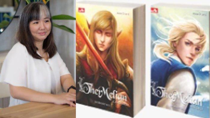 Kisah Shienny M.S, Novel Ther Melian Tertatih-Tatih Tapi Tak Berhenti Menulis Demi Cinta
