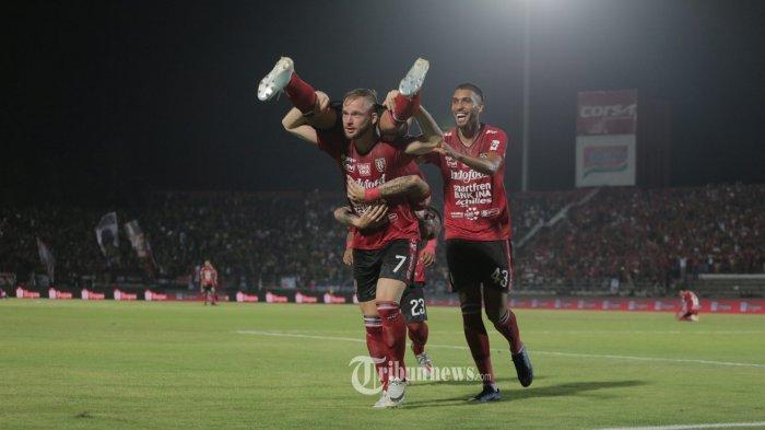 Hasil Bali United vs Madura United Babak Pertama, Gol Cepat Platje Bantu Tuan Rumah Unggul Tipis 2-1