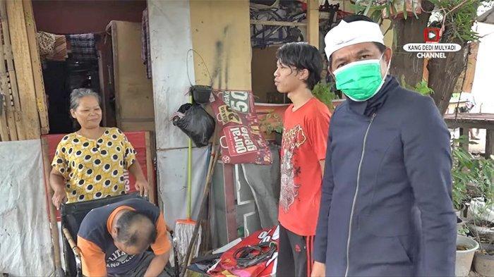 Memanfaatkan sang Ayah yang Disabilitas untuk Mengemis, Keluarga Ini Kena Marah Dedi Mulyadi