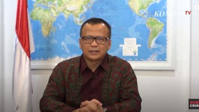 Sempat Masuk ICU RSPAD Gatot Subroto, Hasil Tes Swab Menteri Edhy Prabowo Sudah Negatif