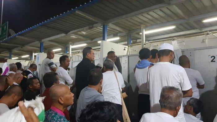 Fasilitas di Mina Minim, Menteri Agama pun Ikut Antri di Kamar Mandi