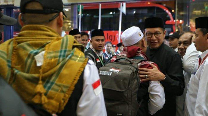 Lepas Kepulangan Jemaah ke Tanah Air, Menag Sampaikan Ciri Haji Mabrur