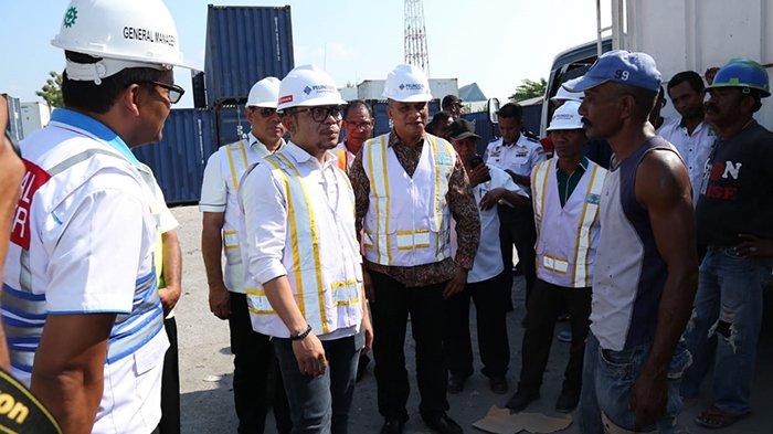Sidak di Pelindo III Maumere, Menaker Temukan Pelanggaran Ketenagakerjaan