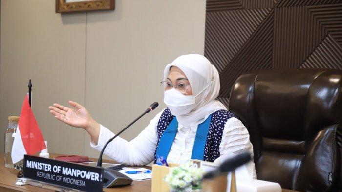 Menteri Ketenagakerjaan, Ida Fauziyah. (dok. Kemnaker)