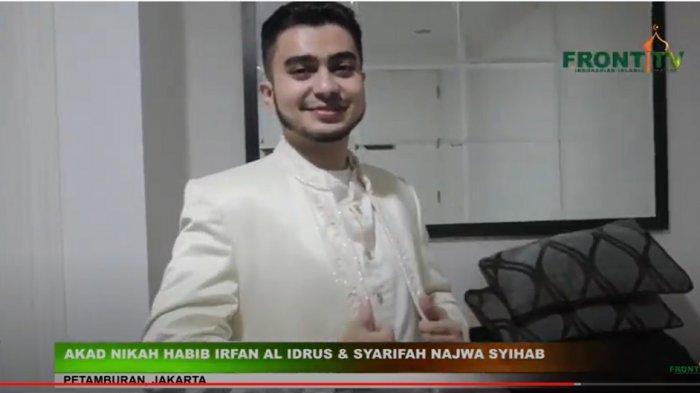 Menantu Habib Rizieq Shihab, Irfan Al Idrus