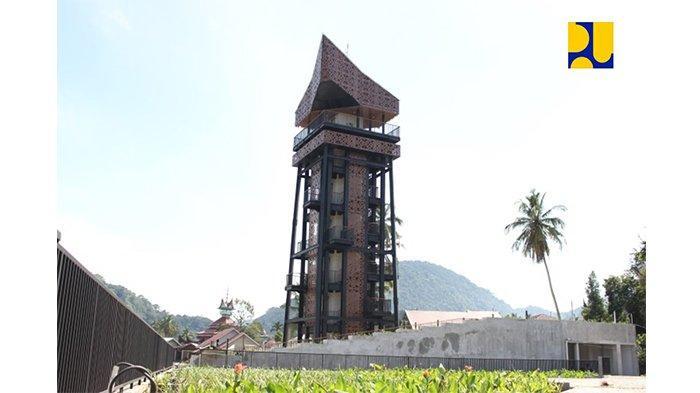 menara songket Kawasan Saribu Rumah Gadang