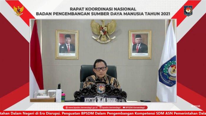 Mendagri Tekankan Pentingnya Peningkatan SDM pada Rakornas BPSDM Se-Indonesia