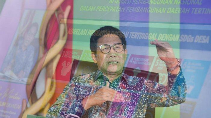 Gus Halim Sebut Proyeksi Daerah Tertinggal yang Terentaskan Akan Lebihi Target RPJMN