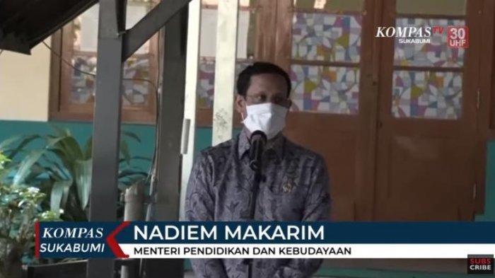 Menteri Pendidikan dan Kebudayaan (Mendikbud), Nadiem Makarim meminta pihak sekolah tetap mengutamakan kesehatan saat kegiatan belajar mengajar (KBM) dilakukan secara langsung.