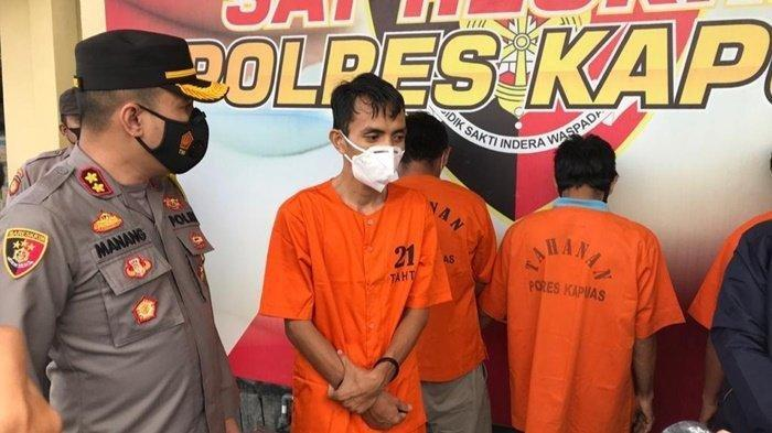 Polisi Tangkap Pembuat Surat Keterangan Antigen Palsu di Kapuas, Pelaku Raup Untung Jutaan Rupiah