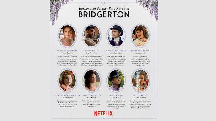 Mengenal Lebih Dekat Para Karakter di Serial Bridgerton yang Segera Tayang di Netflix
