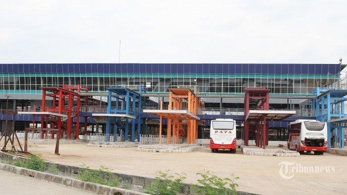 Banjir di Jabodetabek, Kondisi Empat Terminal Bus Relatif Aman