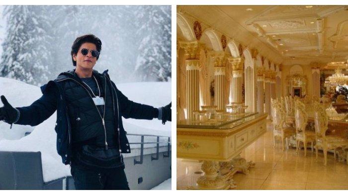 Mengintip Potret Rumah Aktor Bollywood Shah Rukh Khan yang Mewah Bak Istana