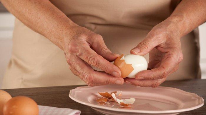 Mudah Dilakukan, Ini Cara yang Tepat Merebus dan Mengupas Kulit Telur