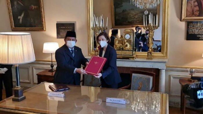 Prabowo dan Menhan Perancis Teken Kerjasama di Bidang Intelijen hingga Bantuan Kemanusiaan