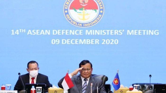 Menhan Prabowo Puji Dukungan Amerika Serikat terhadap Negara-negara ASEAN