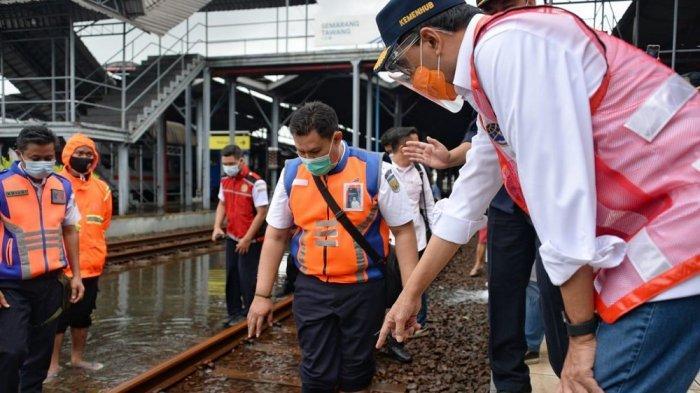 Bandara dan Stasiun KA di Semarang Terendam Banjir, Ini yang Dilakukan Pemerintah