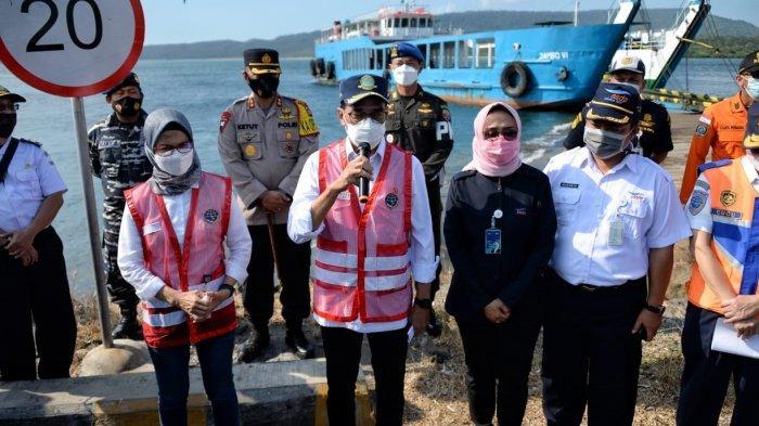 Menhub Cek Kesiapan Pelabuhan Gilimanuk, Antisipasi Pasca Lebaran