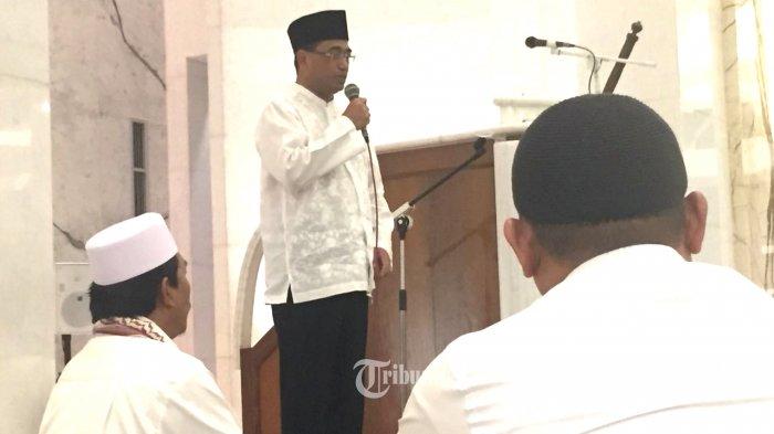 Syiar Di Masjid, Menhub Ingatkan Pentingnya Keselamatan Berkendara